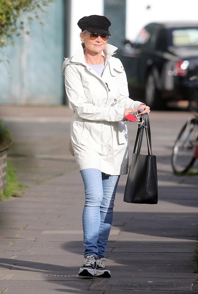 Lockdown rule break: The presenter, 60, is said to have hosted a 'pamper party' at her west London apartment with at least five friends on February 12