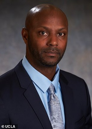 Weiland was previously suspended from the team for the text message and video.  He was later reinstated by coach Avery Anderson (pictured), who has since admitted that the decision was a mistake.