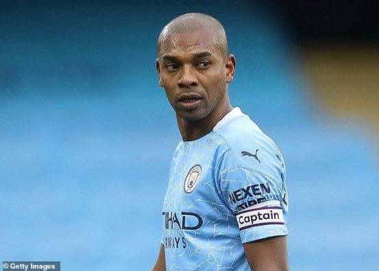 Captain, leader, legend: Fernandinho has a great off-field influence in Manchester City