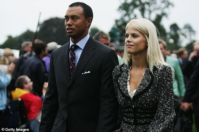 Uchitel was at the center of Woods' divorce from his then-wife Elin Nordegren (pictured together in 2006)