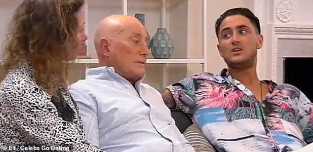 'It's very different to the person you see': The reality TV star, 31, is believed to be 'keeping a low profile' after fleeing his home over death threat fears (pictured with his mum and dad in 2017)