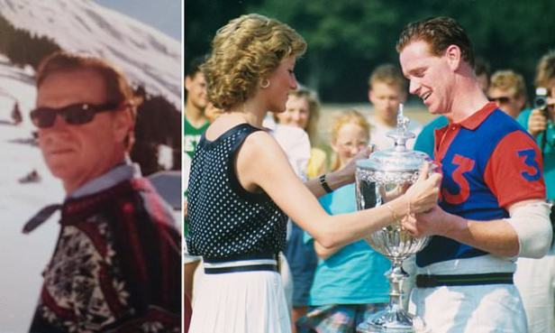SEBASTIAN SHAKESPEARE: Diana's former lover James Hewitt is on Tinder