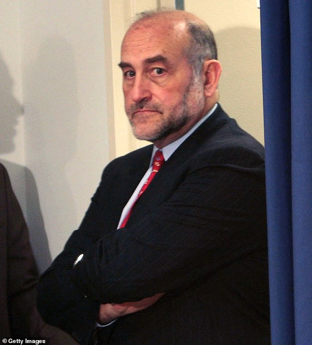 The Manhattan district attorney's office hired Mark Pomerantz (pictured in 2008), a high-profile attorney with decades of experience with white collar crime cases, this month as it ramps up its investigation into Donald Trump's business dealings