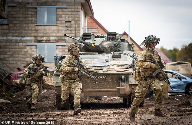 The Army is also considering scrapping its fleet of Warrior Armoured Fighting Vehicles ahead of schedule to replace them with the new Boxer APC