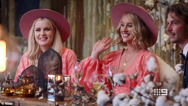 Turning heads!Booka and Brett tied the knot on Married At First Sight on Tuesday. However, her bridesmaids upstaged her for all the wrong reasons. The 31-year-old musician and mental health worker dressed her two bridesmaids in attention-grabbing pink dresses and hats