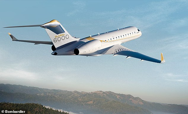Documents leaked on the CLOP dark website appear to show the Globaleye sytem, which has been attached to Bombardier's Global 6000 jet, pictured