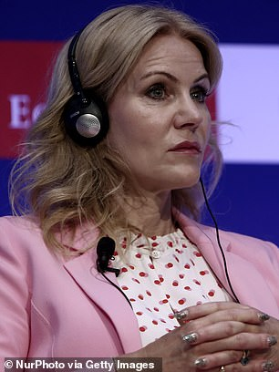 Former Danish Prime Minister Helle Thorning-Schmidt and co-chair of Facebook's Oversight Committee