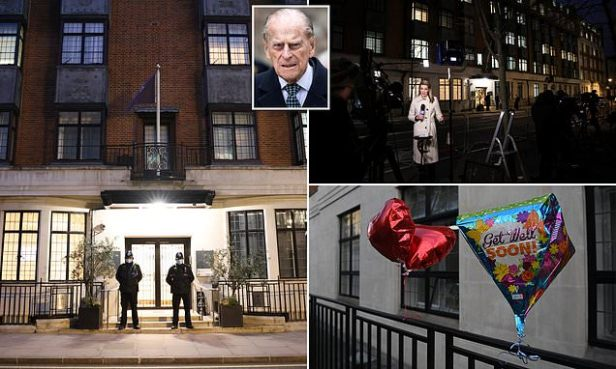 Prince Philip spends eighth night in hospital with infection