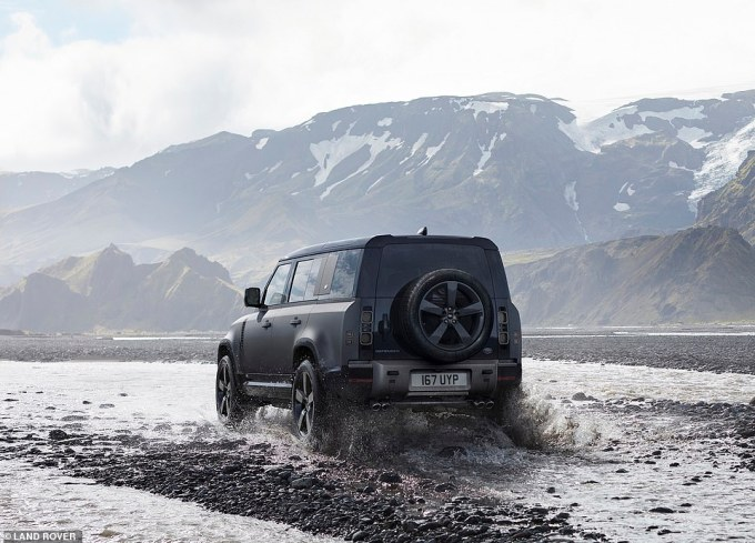 It means the V8 models have a significant mark-up when compared with the rest of the Defender range, starting from £44,825 for the  entry 90 and £46,215 for the 110