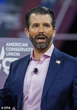 Yet Donald Trump Jr. has claimed it was all down to 'liberal privilege'