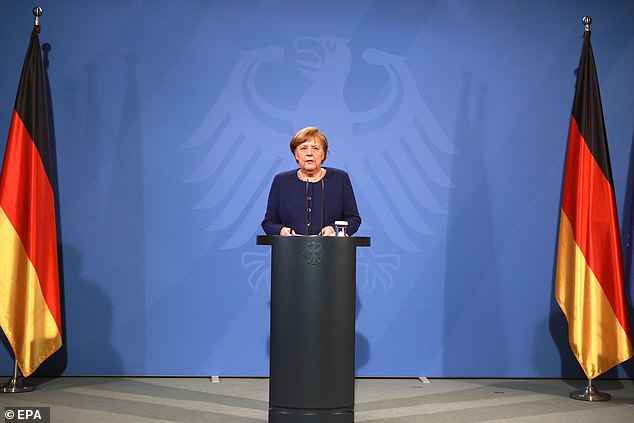 German Chancellor Angela Merkel said there is an 'acceptance problem' within Europe