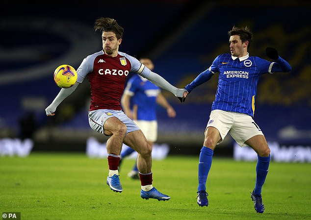 Grealish continues to be Aston Villa's key player and England fans are desperate to see more
