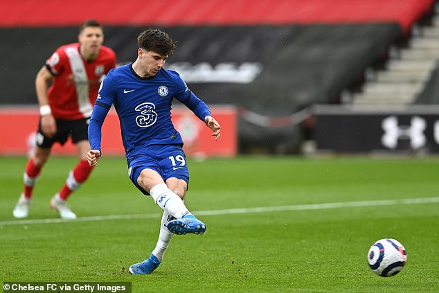 Mason Mount has been one of Chelsea's standout players despite a topsy-turvy season so far