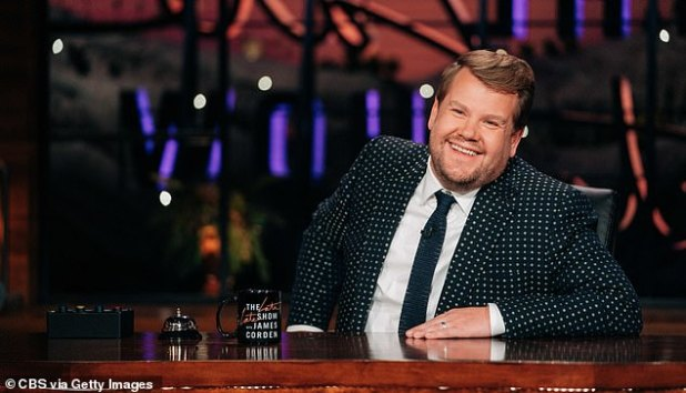 Joker: James Corden has revealed that he has dedicated himself to stealing a quiet moment away from his family by hiding in the bathroom during the pandemic