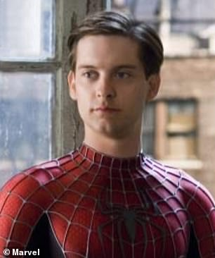 'I panicked!'  In an interview, the former glamor model recalled when Hollywood stars Tobey (pictured in 2007), 45, and Val, 61, told her
