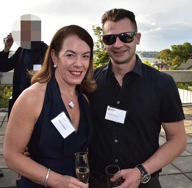 Pictured: Melissa Caddick and her husbandAnthony Koletti before she went missing on November 12