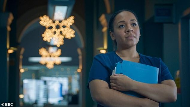 BBC Star: At the time, many also asked how her character's storyline on Holby City tied to her actual pregnancy, having assumed that was only part of the plot.