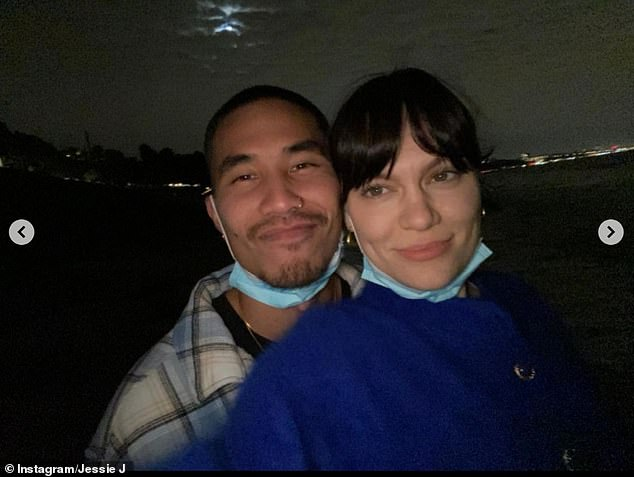 Smitten: Earlier this Jessie confirmed her new romance with dancer Max Pham, four months after splitting from Channing Tatum