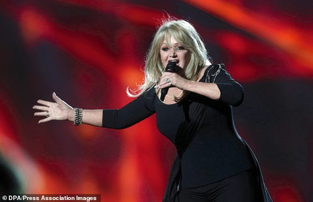 Legend!Bonnie worked with a host of talented artists on her upcoming album The Best Is Yet To Come (Pictured representing the UK during the Eurovision in 2013)
