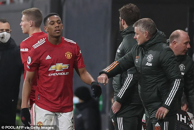 Barnes also questioned whether Martial is happy with his role in Ole Gunnar Solskjaer's squad
