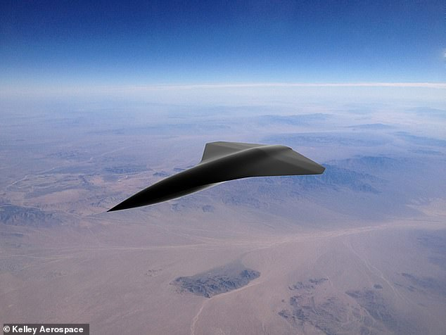 Kelley Aerospace, con sede en Singapur, ha lanzado oficialmente el primer vehículo aéreo de combate no tripulado supersónico del mundo