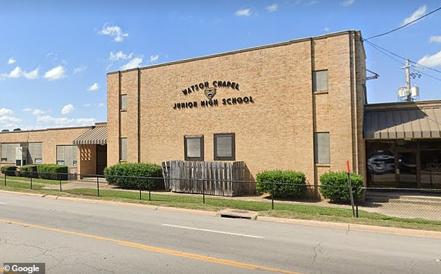 One student was wounded and another was taken into custody following a shooting at Watson Chapel Junior High School in Pine Bluff, Arkansas