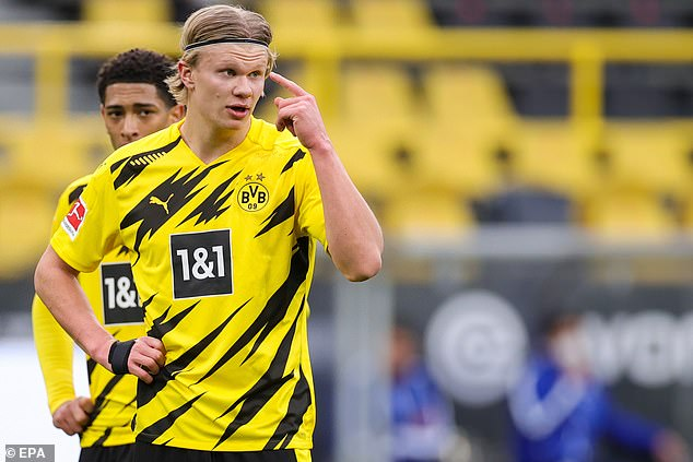 Haaland could be on the move if Borussia Dortmund fail to finish in the top four in Germany