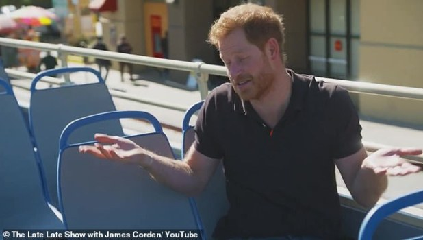 Opinion: Speaking to Corden, Prince Harry gave the Netflix show his stamp of approval and said, 'Of course it's not strictly accurate, but it gives you a rough idea of ​​that lifestyle.'
