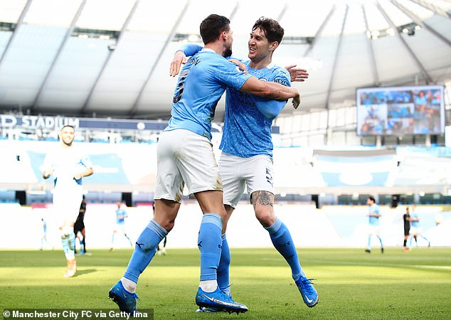 Runaway leaders Manchester City are the only team who appear assured of a top four place