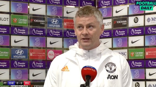 Ole Gunnar Solskjaer believes Chelsea 's website attempted to influence referees after their article claimed Harry Maguire survived VAR reviews against them prior to Sunday's match