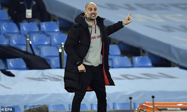 Pep Guardiola laughed off talk of records and insisted the focus was now on playing Man Utd