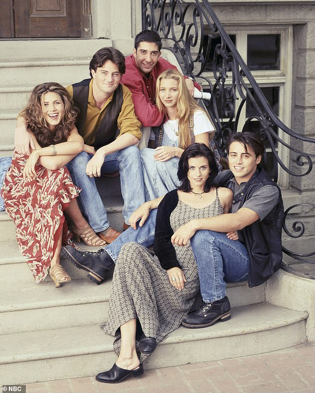 Gang's all here: The team at HBO Max as well as the beloved stars of Friends all want the show reunion to be in person