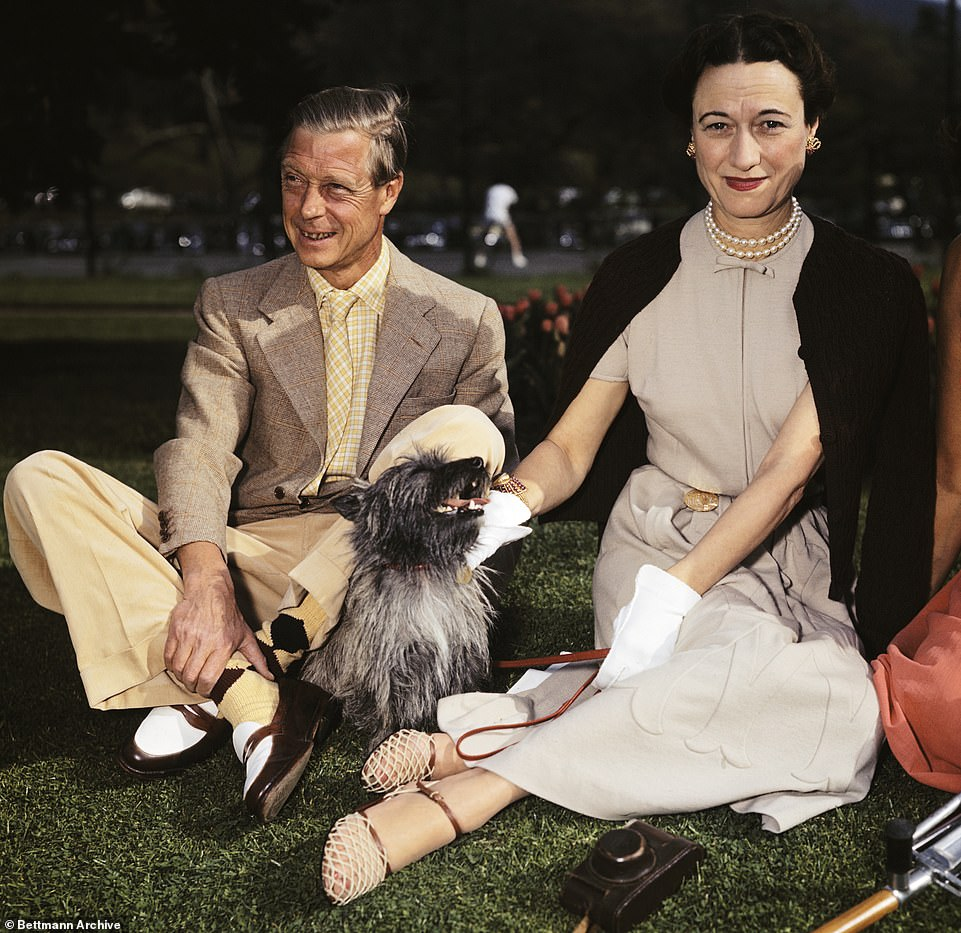 The crisis has echoes of the dramas that followed the Abdication of Edward VIII in 1936 after he chose to marry American divorcée Wallis Simpson (pictured)