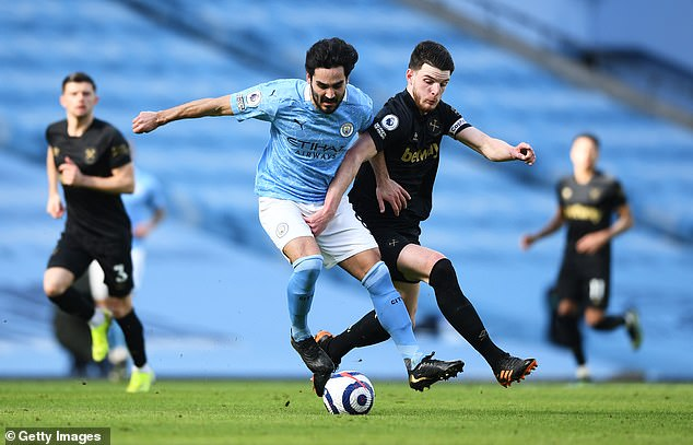Ilkay Gundogan stole the show for City in the absence of Kevin De Bruyne in midfield