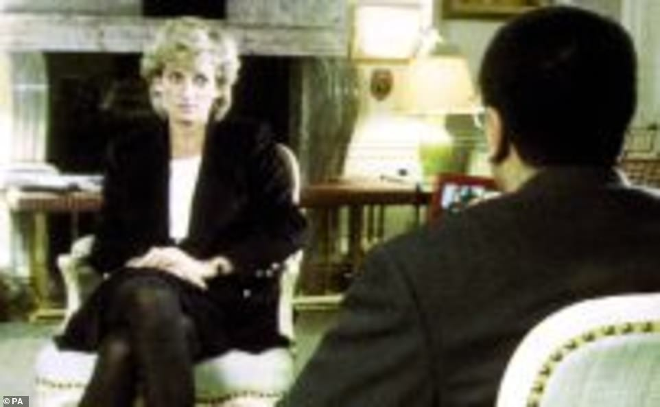 It is oft cited that Princess Diana used the term in interview, but was in fact 'The Establishment'