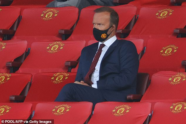 Club chief Woodward has been a regular spectator at Old Trafford throughout this season