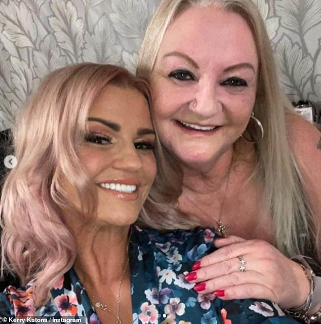Moving?Kerry Katona is reportedly planning to move back up north so she can be closer to her mother Sue in case her 'health declines' (pictured together last year)