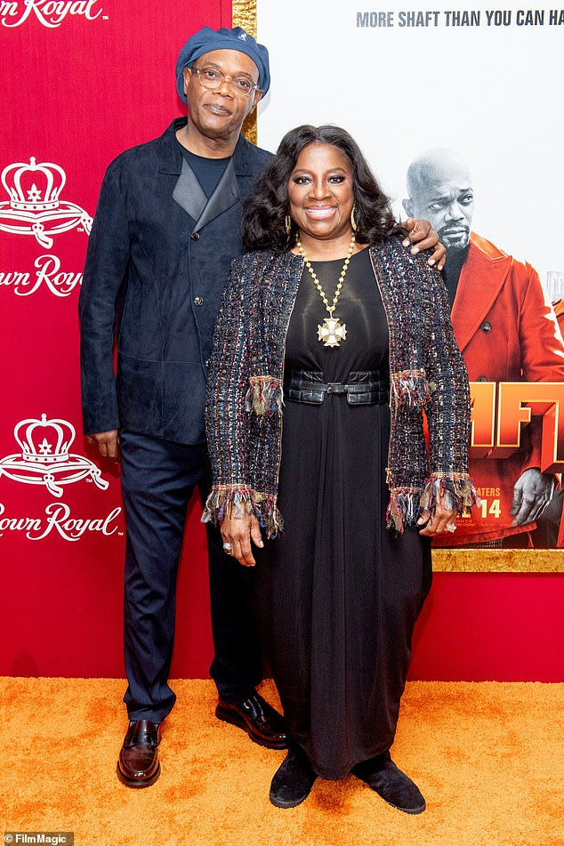 The play which is likely to reach the stage sometime in 2022, will be directed by LaTanya Richardson Jackson — Samuel L.'s Tony award-winning wife (pictured together)