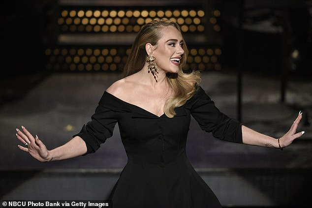 Private:In April 2020, Adele's request to keep the details of her divorce private was granted by a court in LA (pictured in October)