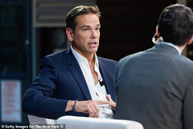 Lachlan Murdoch, seen in 2018, told a conference on Thursday that Fox was 'loyal opposition'