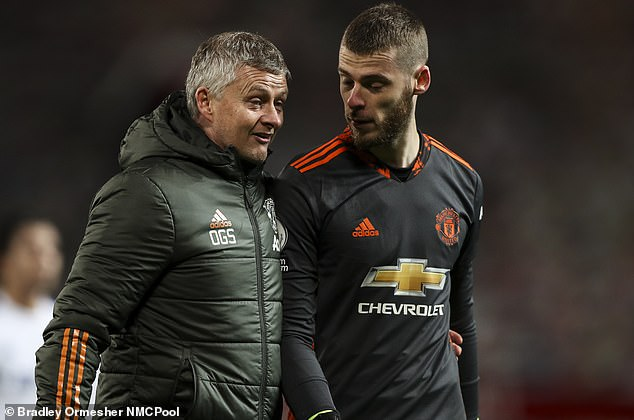 Ole Gunnar Solskjaer has told De Gea to stay with his family until after the international break