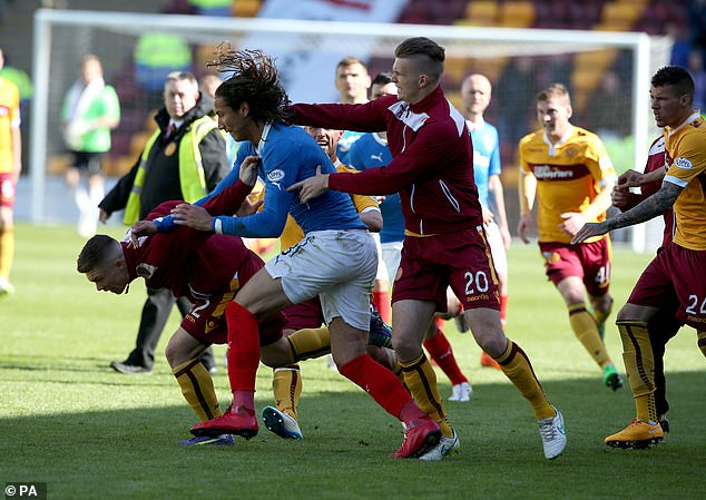 Bilel Mohsni received a seven-match ban for his actions during the Championship play-off