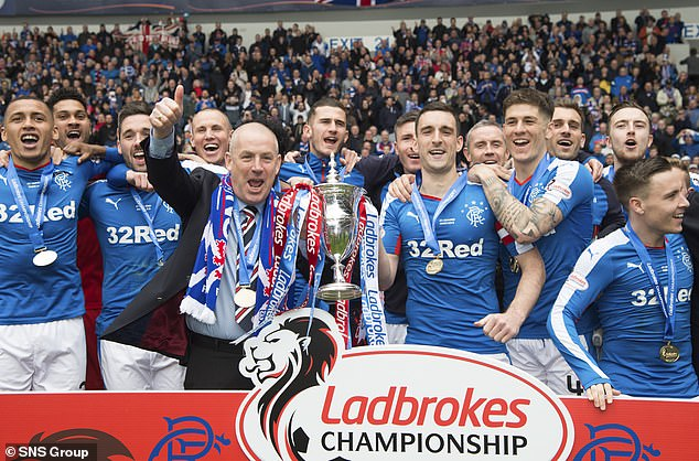 Rangers won the title by nine points as Mark Warburton delivered them back to the top flight
