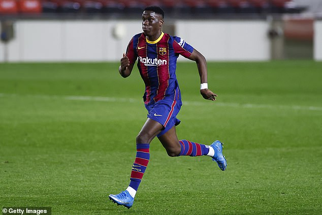 Manchester United have reportedly made a 'firm offer' to sign Barcelona starlet Ilaix Moriba