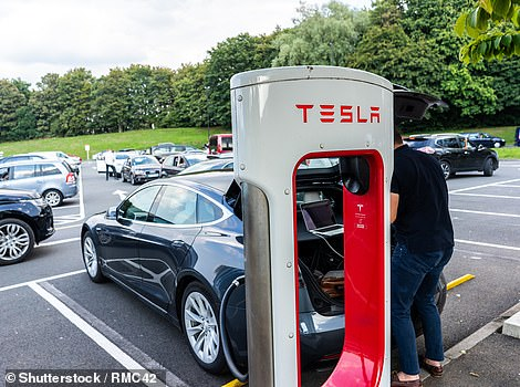 Tesla's Supercharger network leads the way in the driver survey