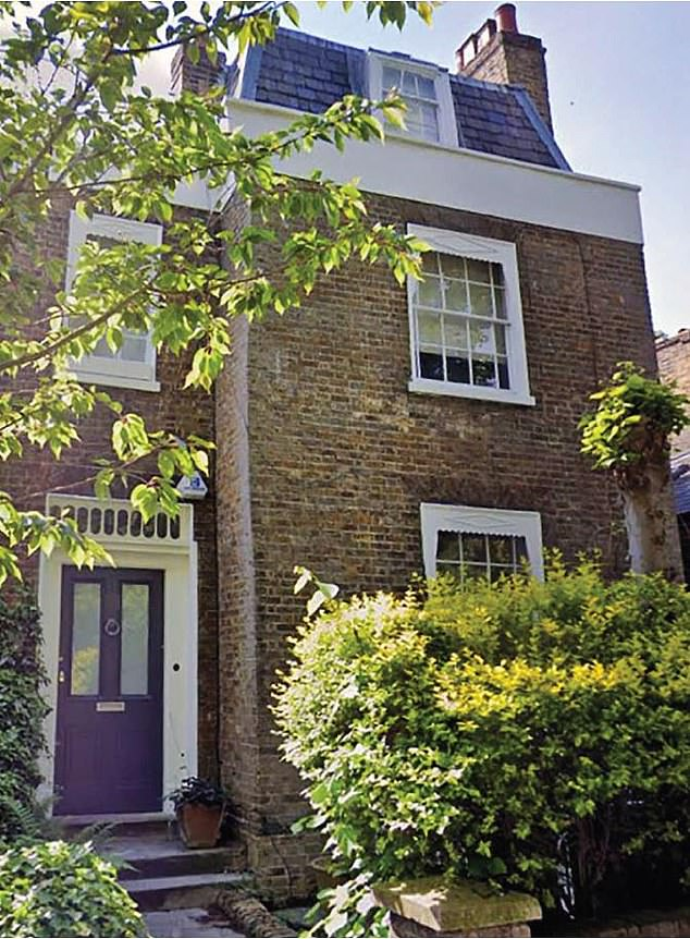 Land register documents show the actress, who grew up in Esher, Surrey, bought the Grade II listed house in north London without a lender in November