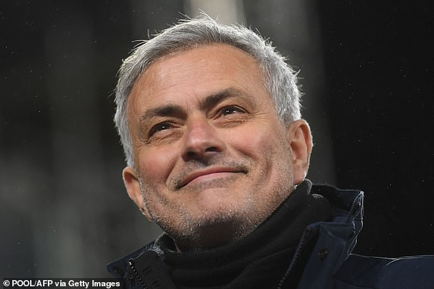 Jose Mourinho's Tottenham would jump up two places, into sixth, due to having an extra point