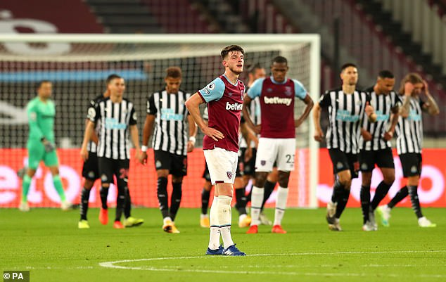 West Ham, VAR's biggest beneficiaries this campaign, would drop six points and fall into ninth