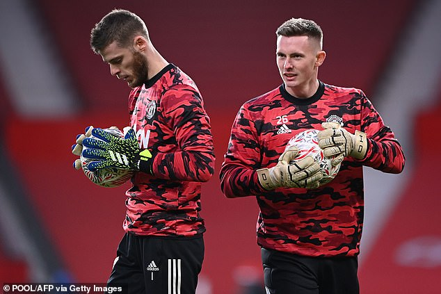 David Henderson will play once more with David de Gea in Spain after his daughter's birth