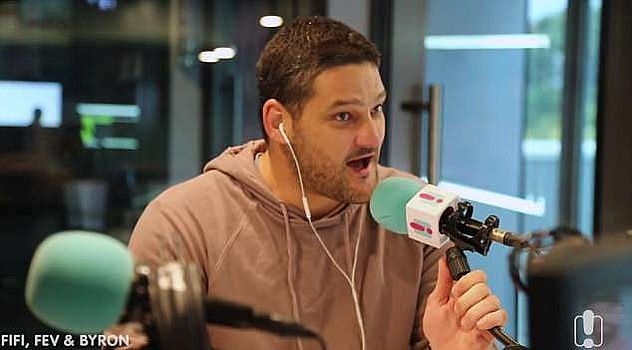 Loves it!Brendan Fevola (pictured) says that he's finally found 'the best job in the world'. The former AFL star is a breakfast presenter on Fox Fm's Fifi, Fev & Byron radio program - and he's never been happier